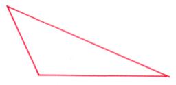 trójkąt rozwarty