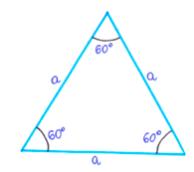 trójkąt równoboczny