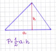 wzór na obliczanie pola trójkąta