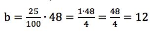Obliczenie procentu danej liczby