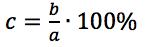 Obliczenie, jaki procent jednej liczby stanowi druga liczba