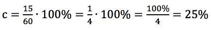 Jakim procentem liczby 60 jest 15