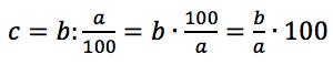 obliczanie liczby b gdy dany jest procent liczby a