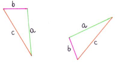 Przystawanie trójkątów