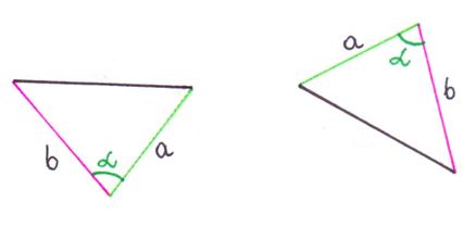 trójkąty przystające