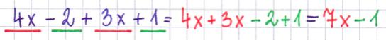 redukcja wyrazów podobnych
