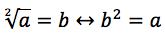 pierwiastek kwadratowy