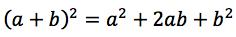 kwadrat sumy wzór skróconego mnożenia