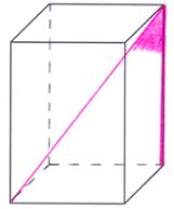 Kąt między przekątną graniastosłupa a krawędzią boczną