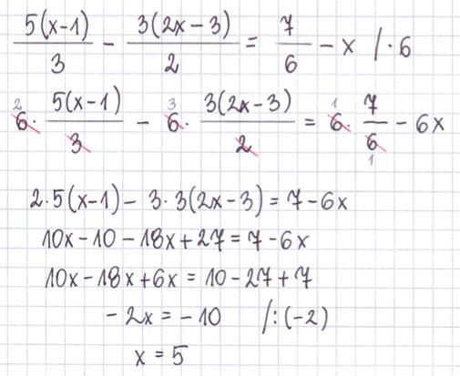 Rozwiązywanie równań